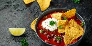 Soupe chili mexicaine
