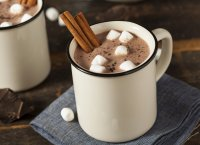 Chocolat chaud aux marshmallows