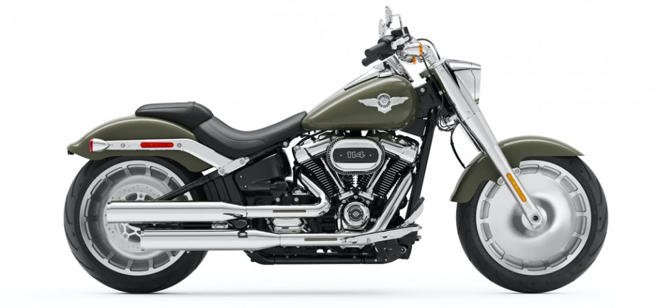 Harley Fat Boy 2021 : back to full chrome !