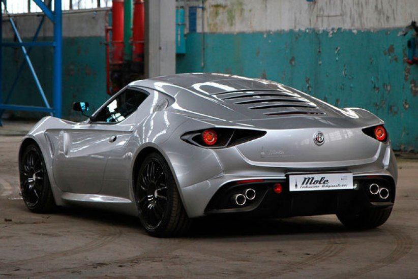 L'Alfa Romeo 4C revue par Up Design