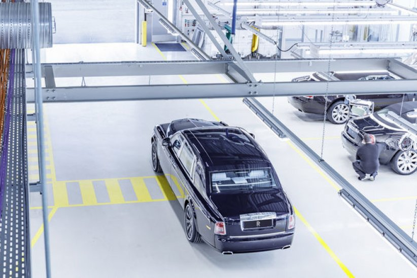 Fin de production pour la Rolls-Royce Phantom