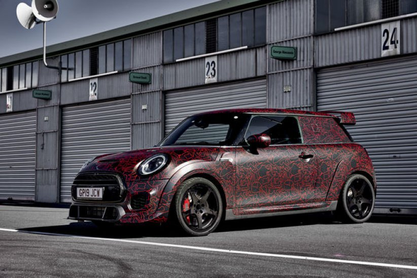 La future MINI JCW GP sur le Ring