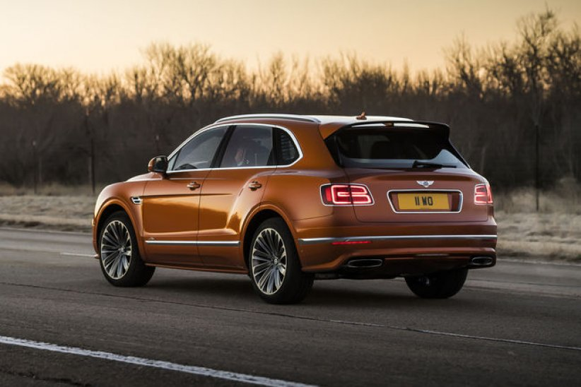 Bentley Bentayga Speed, le SUV le plus rapide