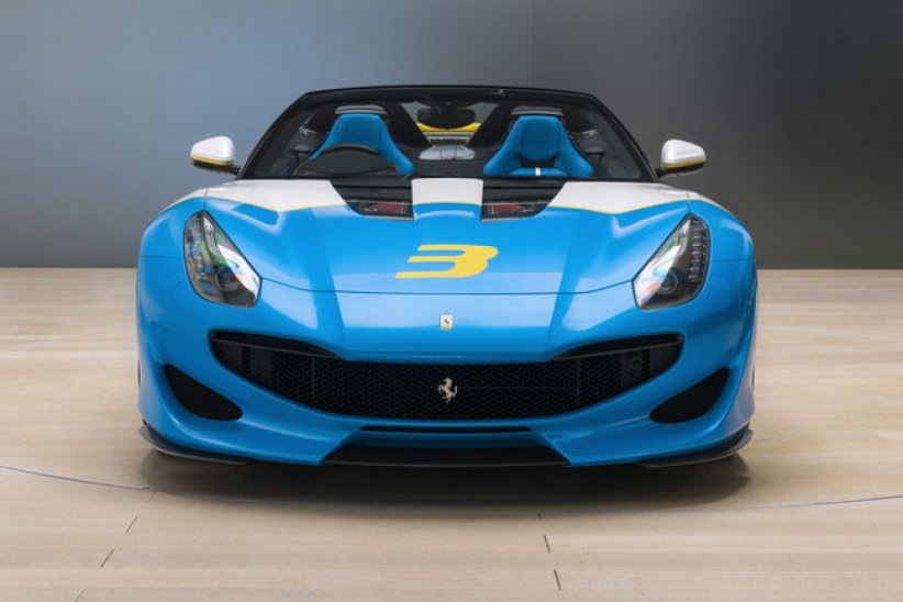 One-off Ferrari SP3JC