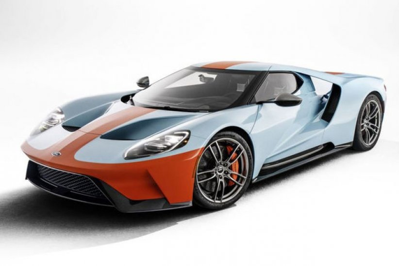 Ford GT Heritage Edition Gulf