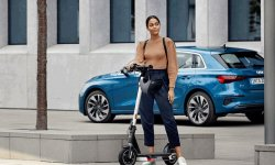 Audi présente sa trottinette Electric kick scooter