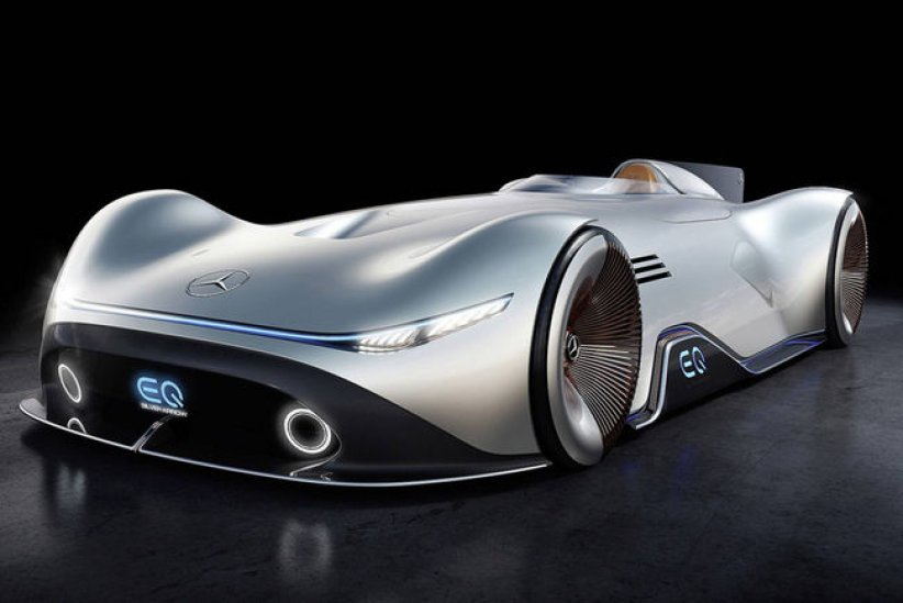 Concept Mercedes EQ Silver Arrow