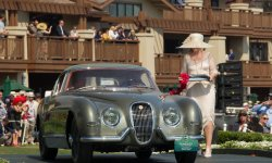 Pebble Beach : one-off Jaguar XK120