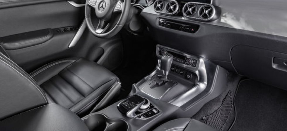 Mercedes Classe X : un pick-up connecté