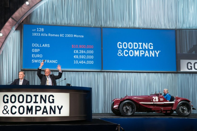 Gooding : record à Pebble Beach