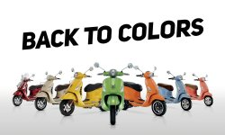 Back to colors : c'est le printemps chez Vespa