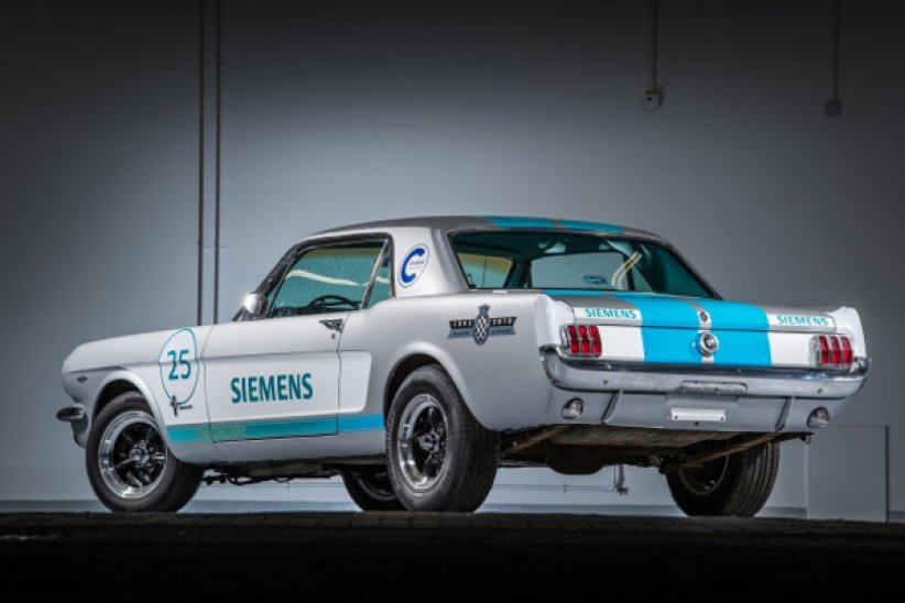 Une Mustang autonome à Goodwood