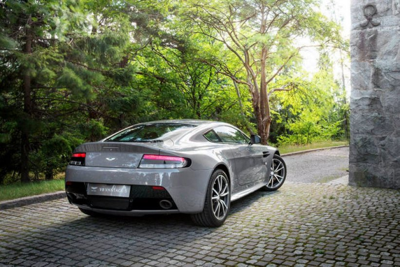 Aston Martin Vantage Swedish Forest