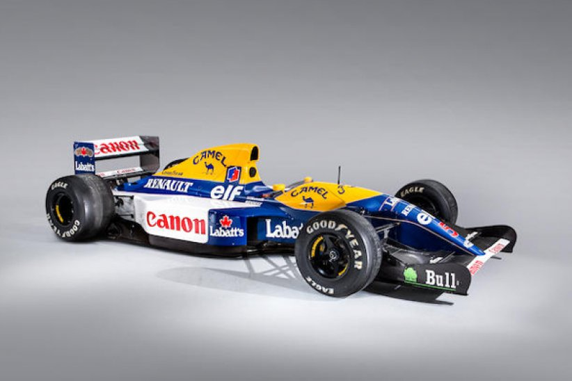 Bonhams : Williams-Renault FW14B