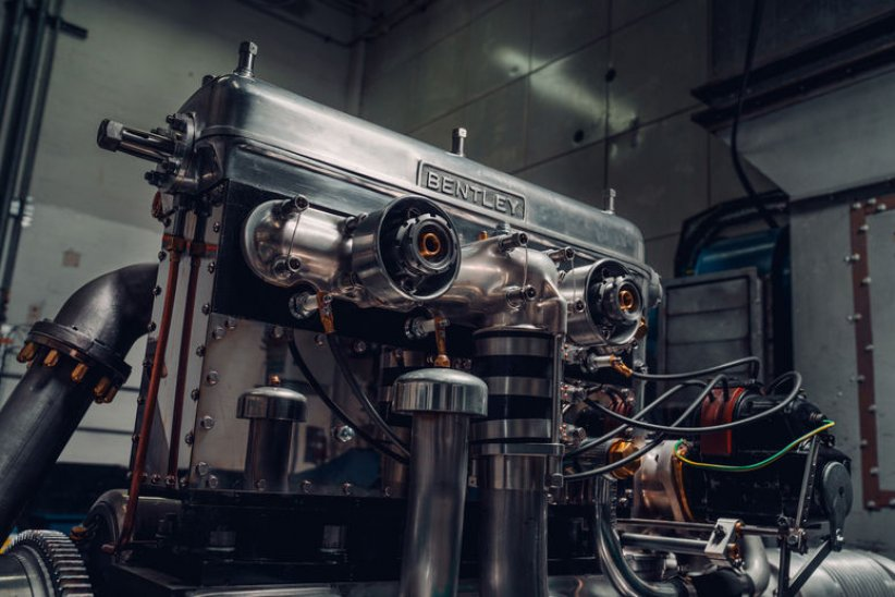 Bentley : le moteur de la Team Blower Continuation sur le banc
