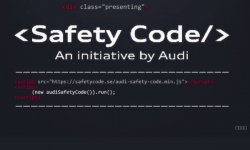 Audi et son étonnant Safety Code