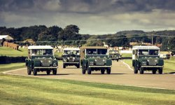 Goodwood : 70 ans de Land Rover
