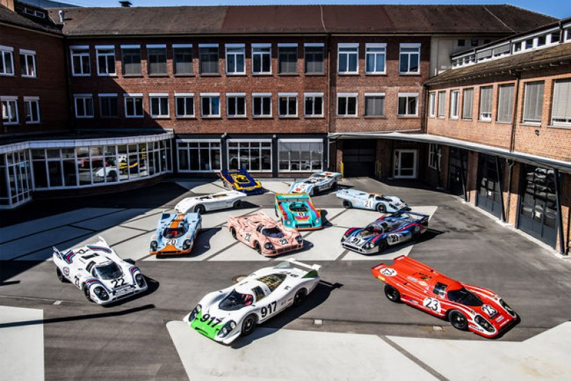 Exposition 50 Years of the Porsche 917 - Colours of Speed