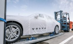 Les Volvo S90 chinoises en approche
