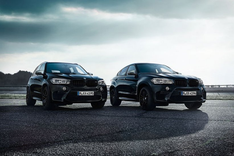 BMW X5 M et X6 M Black Fire Edition