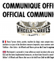 Wheels & Waves 2020 : annulé !