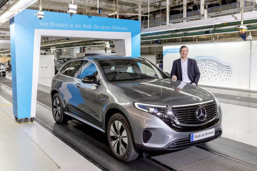 Mercedes EQC: début de production