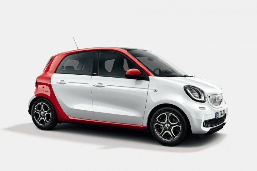 Smart Forfour Pure 13 390 euros