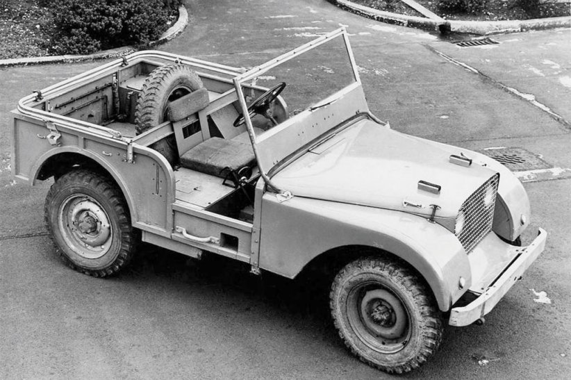 Prototype Centre Steer (1947)