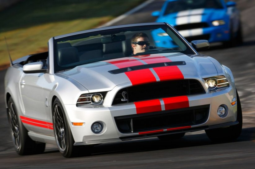 Ford Mustang Shelby GT 500 Cabriolet (2013)