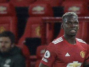 Manchester United : Pogba absent plusieurs semaines