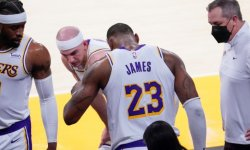"NBA : L.A. Lakers : LeBron James absent "" plusieurs semaines """