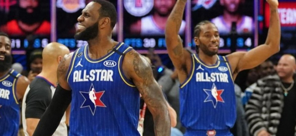 NBA - All Star Game : La Team LeBron s'impose, Leonard élu MVP