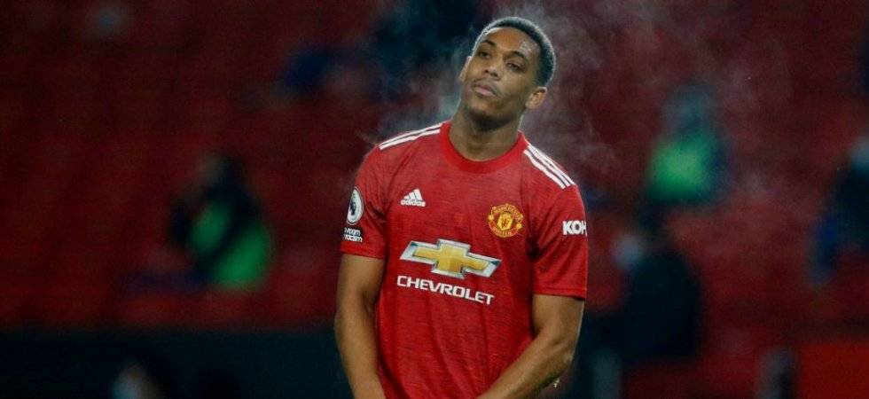 Manchester United : Martial encore critiqué