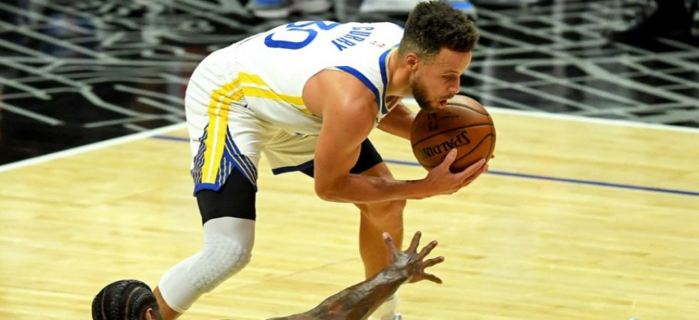NBA - Golden State : Stephen Curry absent encore une semaine