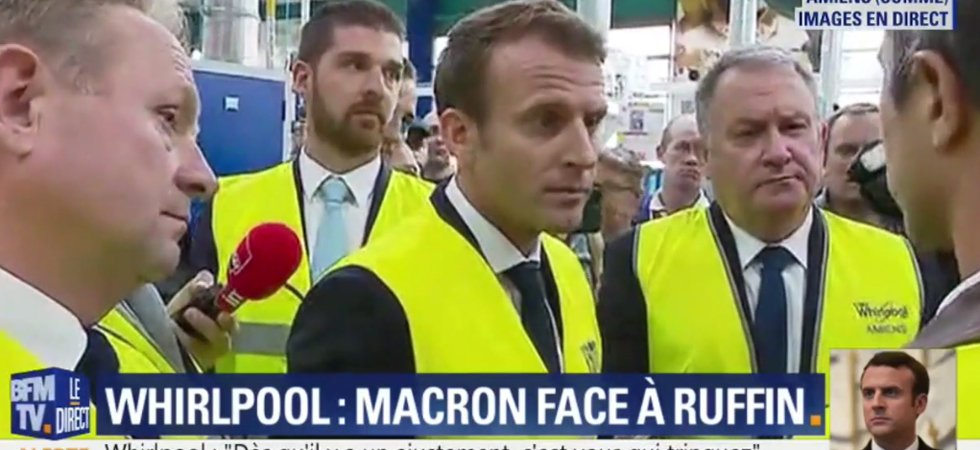 Ruffin interpelle Macron à Whirpool
