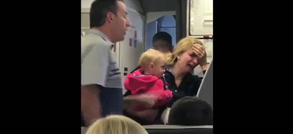 Scandale dans un avion American Airlines