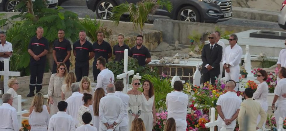 Saint-Barth : tensions autour de la tombe de Johnny Hallyday