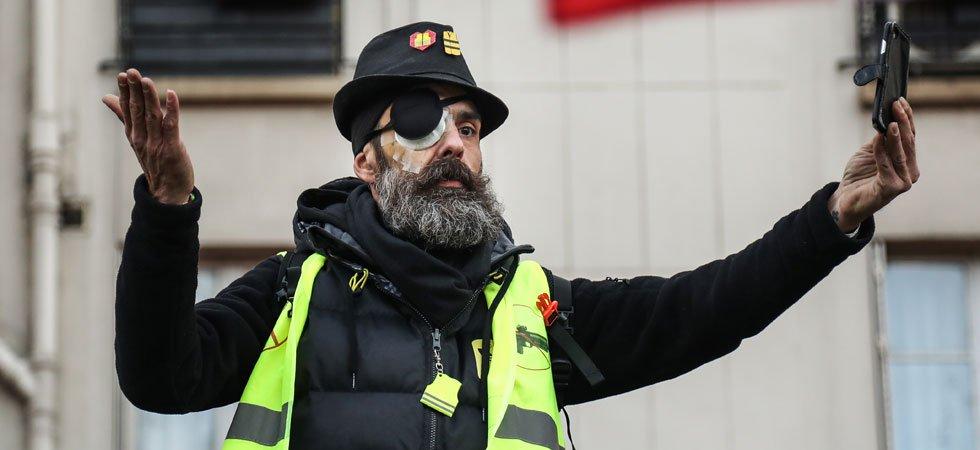 """Gilets jaunes"""" : Jérôme Rodrigues annonce avoir perdu l'usage de son œil"""