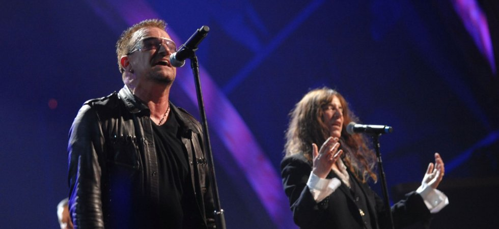Patti Smith rejoint U2 sur scène à Paris